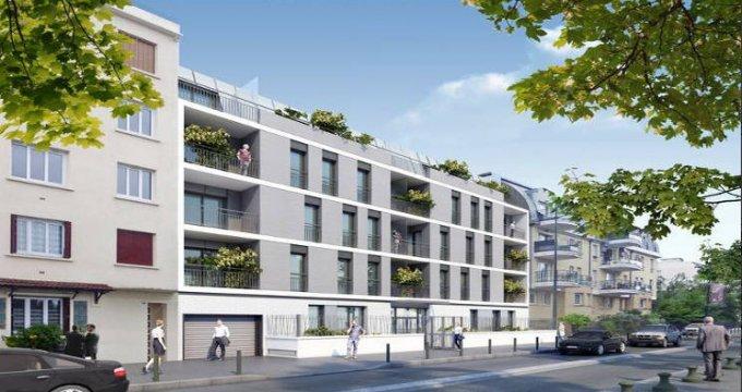 Achat / Vente immobilier neuf Alfortville au bord des rives de la Seine (94140) - Réf. 3366