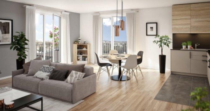 Achat / Vente immobilier neuf Argenteuil proche gare d'Argenteuil (95100) - Réf. 3469