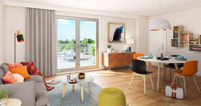 Achat / Vente immobilier neuf Beaumont-sur-Oise proche Transilien H (95260) - Réf. 6080