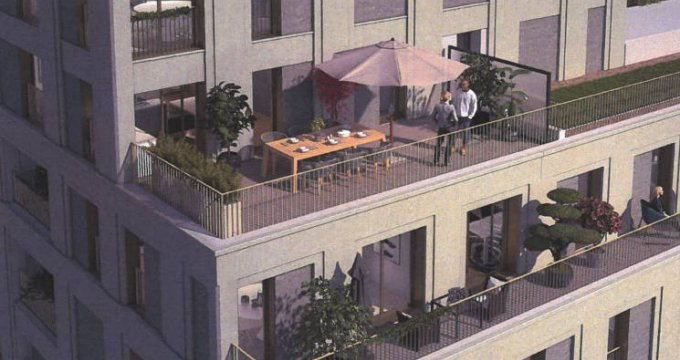 Achat / Vente immobilier neuf Bobigny hypercentre (93000) - Réf. 3266