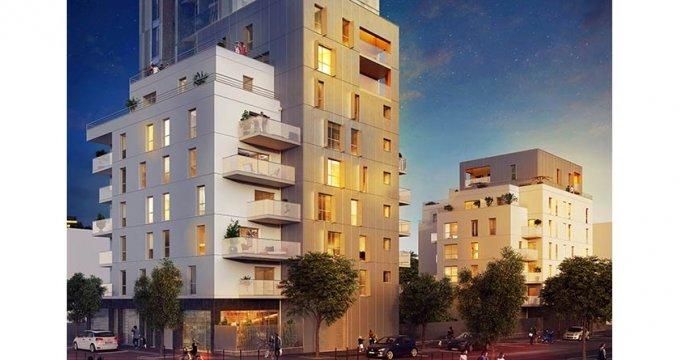 achat immobilier neuf bobigny au bord du canal de l ourcq 93000 r f 559. Black Bedroom Furniture Sets. Home Design Ideas