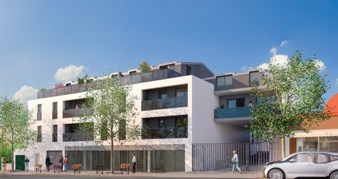 Achat / Vente immobilier neuf Bonneuil-sur-Marne proche bus (94380) - Réf. 3211