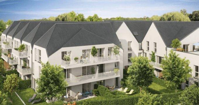 Achat / Vente immobilier neuf Bonnières-sur-Seine à 550 mètres du Transilien J (78270) - Réf. 4023
