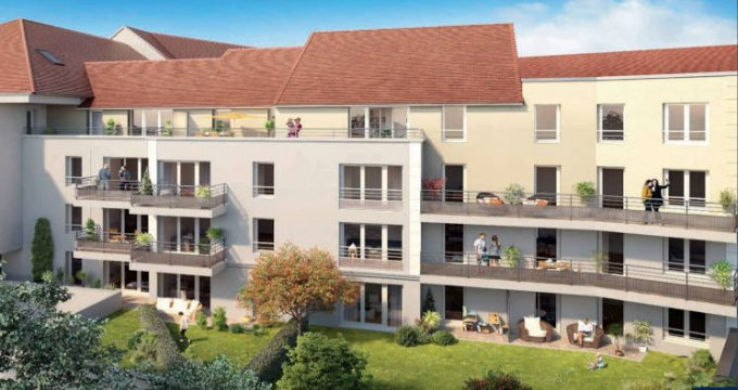 Achat / Vente immobilier neuf Brou-sur-Chantereine proche des commerces (77177) - Réf. 5399