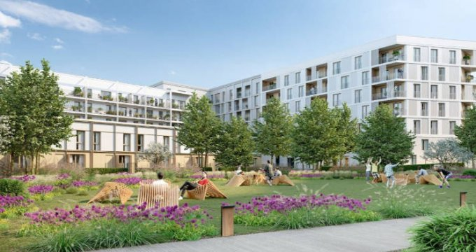 Achat / Vente immobilier neuf Bussy-Saint-Georges à deux pas du RER (77600) - Réf. 4627