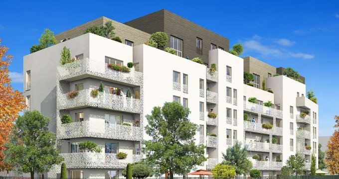 Achat / Vente immobilier neuf Cergy à 100 mètres du RER A (95000) - Réf. 1369
