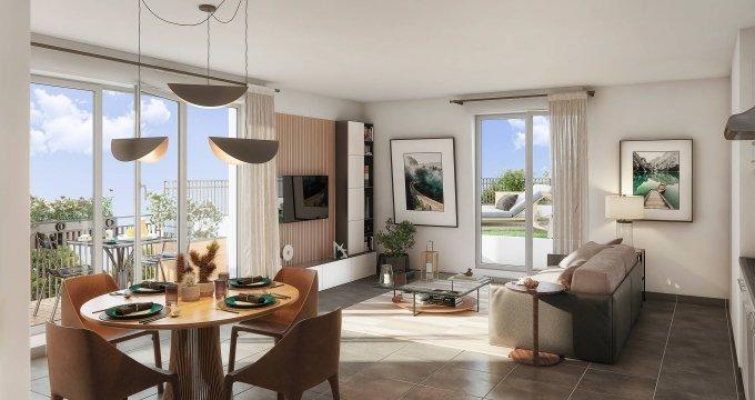Achat / Vente immobilier neuf Champigny-sur-Marne centre-ville proche du pont (94500) - Réf. 6178