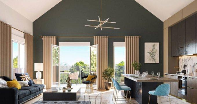 Achat / Vente immobilier neuf Chessy à 30 min de la Porte de Bercy (77700) - Réf. 4841