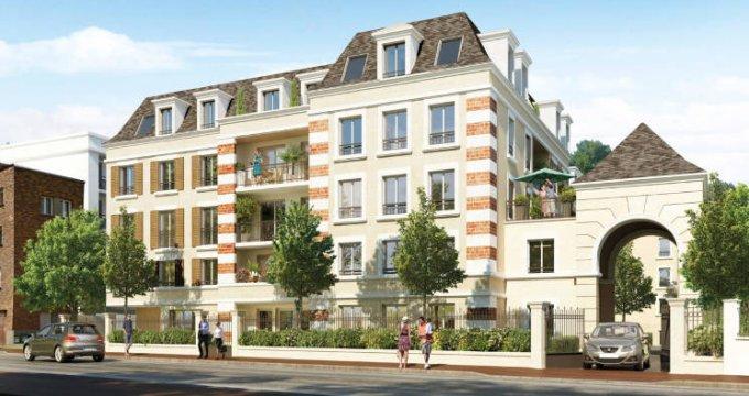 Achat / Vente immobilier neuf Clamart quartier Schneider-Percy (92140) - Réf. 3201