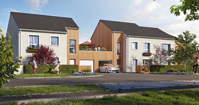 Achat / Vente immobilier neuf Claye-Souilly écoquartier du Bois des Granges (77410) - Réf. 5429