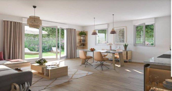 Achat / Vente immobilier neuf Combs-la-Ville proche RER D (77380) - Réf. 4434