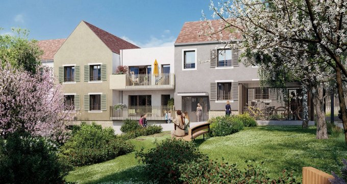 Achat / Vente immobilier neuf Coupvray proche Val d'Europe (77700) - Réf. 6299