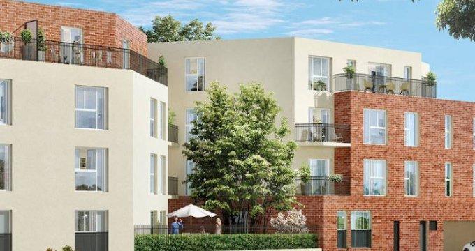 Achat / Vente immobilier neuf Dammarie-les-Lys à 500 mètres du RER (77190) - Réf. 4823