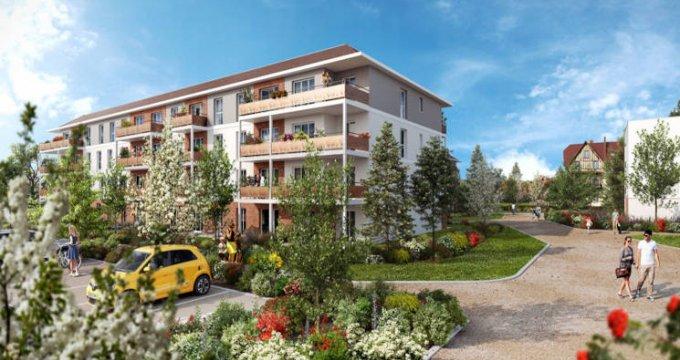 Achat / Vente immobilier neuf Dammarie-les-Lys au coeur du parc du Manoir (77190) - Réf. 5692