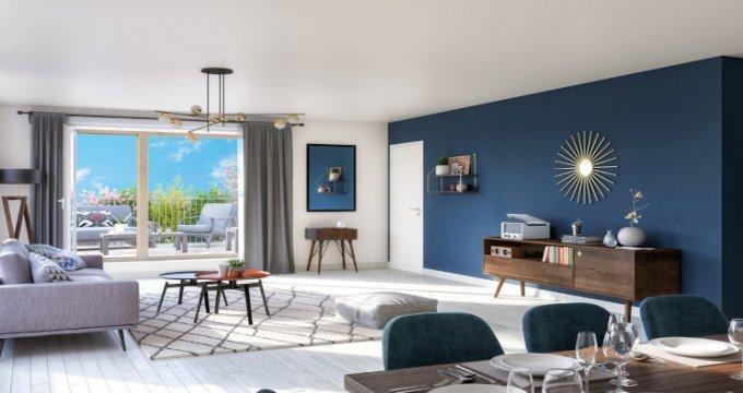 Achat / Vente immobilier neuf Epinay-sur-Seine proche RER C (93800) - Réf. 5376