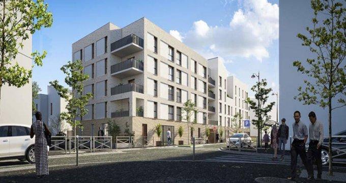 Achat / Vente immobilier neuf Évry-Courcouronnes écoquartier proche RER D (91000) - Réf. 5897
