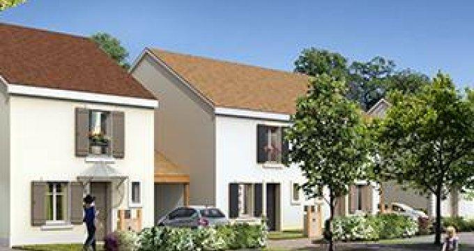 Achat / Vente immobilier neuf Fontenay-le-Vicomte proche gare Mennecy (91540) - Réf. 3986