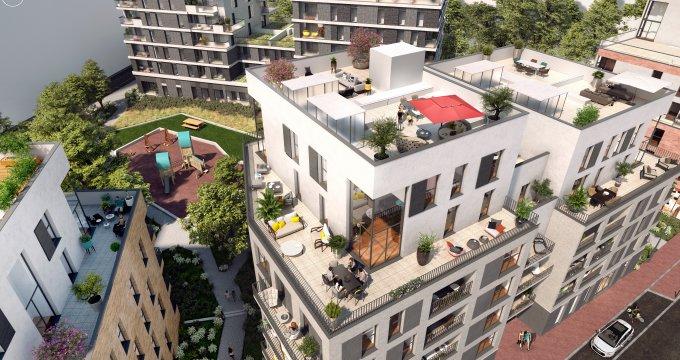 Achat / Vente immobilier neuf Fontenay-sous-Bois proche RER A et E (94120) - Réf. 6187