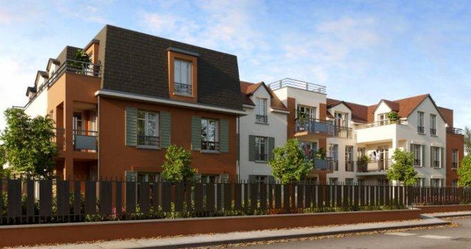 Achat / Vente immobilier neuf Franconville proche du Quai des Marques (95130) - Réf. 5788