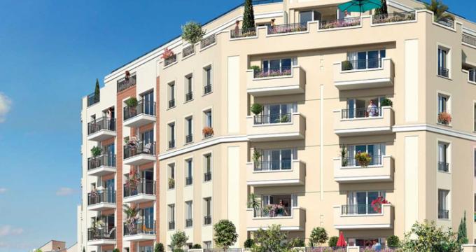 Achat / Vente immobilier neuf Gagny (93220) - Réf. 5016