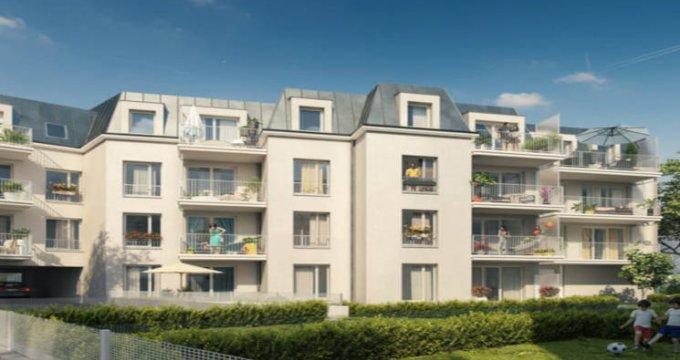 Achat / Vente immobilier neuf Gretz-Armainvilliers gare RER E (77220) - Réf. 3963