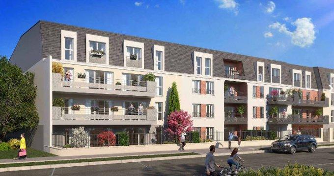 Achat / Vente immobilier neuf Gretz-Armainvilliers proche RER E (77220) - Réf. 3937