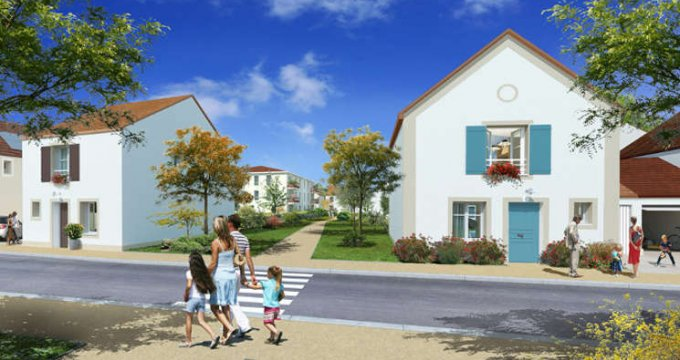 Achat / Vente immobilier neuf Guibeville proche d'Arpajon (91630) - Réf. 1690