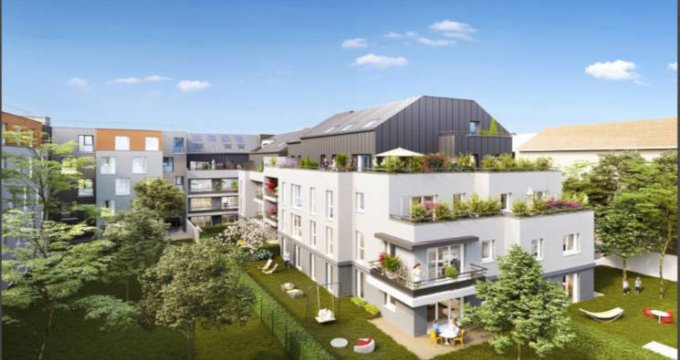 Achat / Vente immobilier neuf Guyancourt proche étang des Roussières (78280) - Réf. 2738