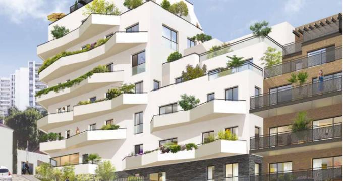 Achat / Vente immobilier neuf Issy-les-Moulineaux à deux pas du RER C (92130) - Réf. 275