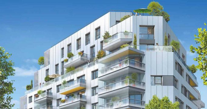 Achat / Vente immobilier neuf Issy-les-Moulineaux proche du 15e arrondissement (92130) - Réf. 2416