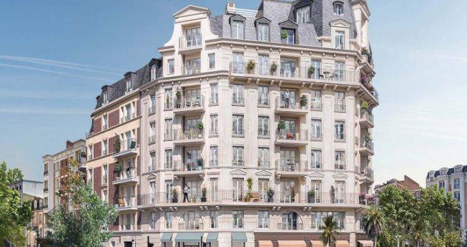 Achat / Vente immobilier neuf La Garenne-Colombes à deux pas de la gare (92250) - Réf. 4644