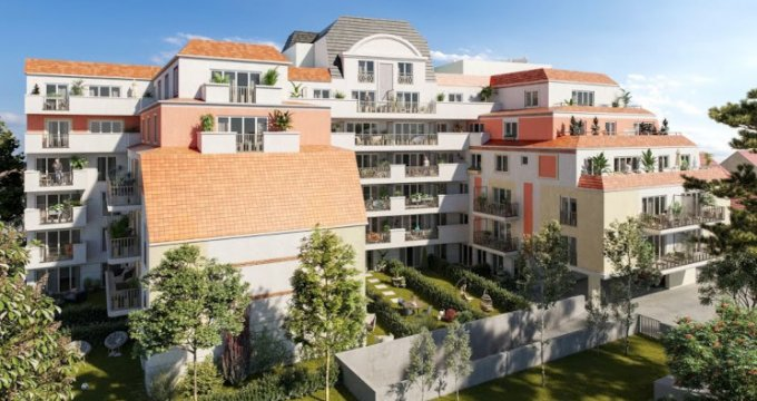 Achat / Vente immobilier neuf Le Blanc-Mesnil proche gare du RER B (93150) - Réf. 5572