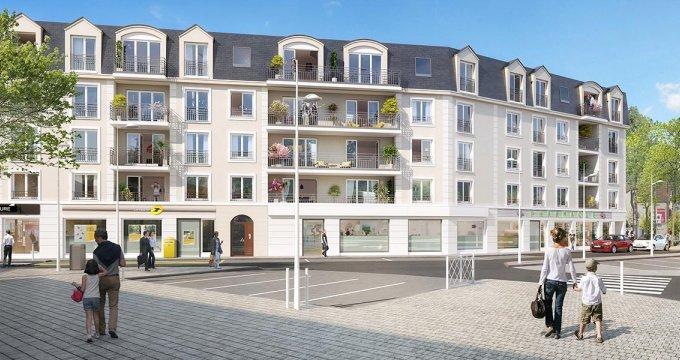 Achat / Vente immobilier neuf Le Plessis Bouchard proche centre-ville (95130) - Réf. 2895