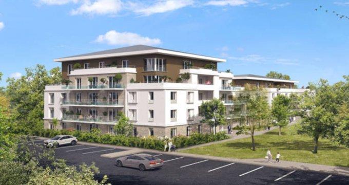 Achat / Vente immobilier neuf Lieusaint à deux pas du centre commercial Carré Sénart (77127) - Réf. 5855
