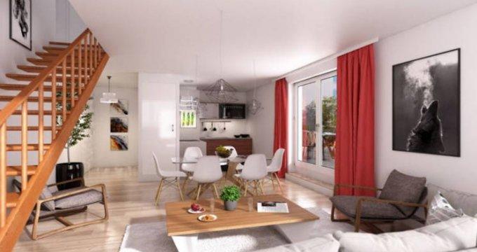 Achat / Vente immobilier neuf Louvres à 850 mètres du RER D (95380) - Réf. 4905