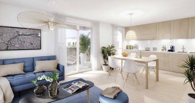 Achat / Vente immobilier neuf Mitry-Mory proche parc Corbion (77290) - Réf. 6180