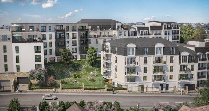 Achat / Vente immobilier neuf Noisy-le-Grand 700 mètres du cœur de ville (93160) - Réf. 2644