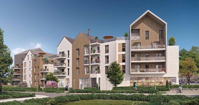 Achat / Vente immobilier neuf Noisy-le-Grand proche des bords de Marne (93160) - Réf. 6266