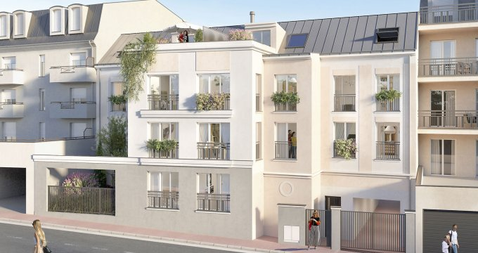 Achat / Vente immobilier neuf Noisy-le-Grand proche gare RER A (93160) - Réf. 4942