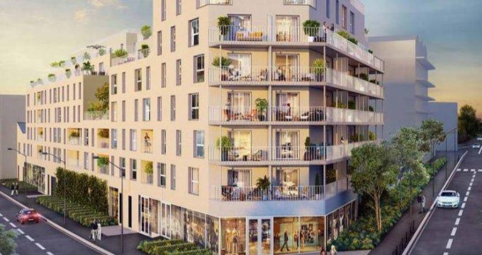 Achat / Vente immobilier neuf Noisy-le-Sec proche des transports (93130) - Réf. 4448