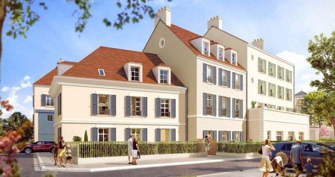 Achat / Vente immobilier neuf Pontoise nouveau secteur Impressions (95000) - Réf. 2443