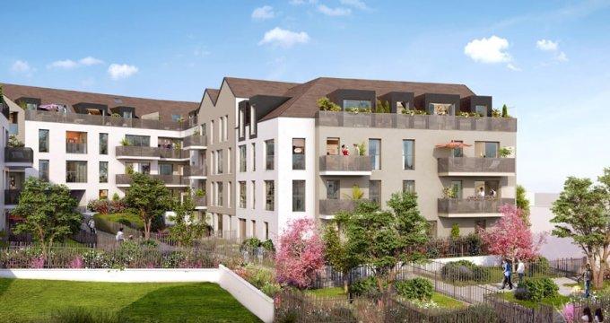 Achat / Vente immobilier neuf Saint-Arnoult-en-Yaux portes de Paris velines (78730) - Réf. 2353