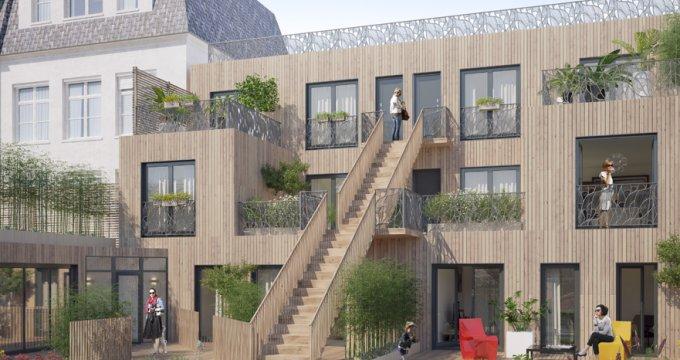 Achat / Vente immobilier neuf Saint-Denis centre-ville piétonnier (93200) - Réf. 2892