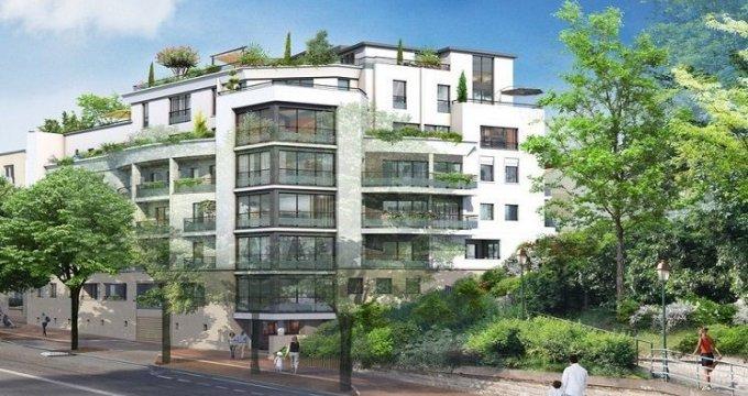Achat / Vente immobilier neuf Saint-Maurice-du-Valais à 600 mètres du bois de Vincennes (94410) - Réf. 2025