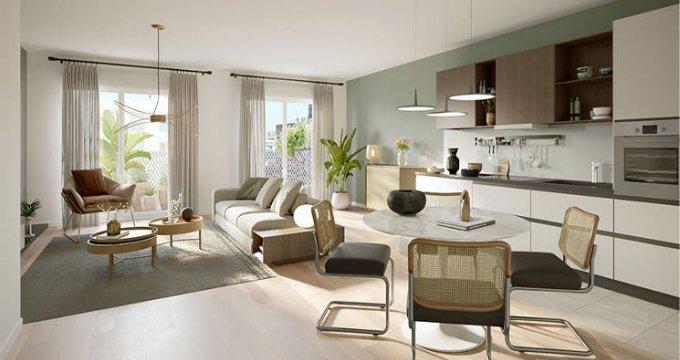 Achat / Vente immobilier neuf Saint-Ouen au pied de la ligne 14 (93400) - Réf. 5953