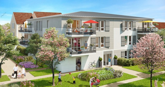 Achat / Vente immobilier neuf Saint-Soupplets au cœur d'un  éco-quartier (77165) - Réf. 1698