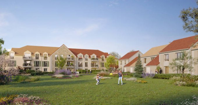 Achat / Vente immobilier neuf Savigny-le-Temple quartier calme et résidentiel (77176) - Réf. 5847