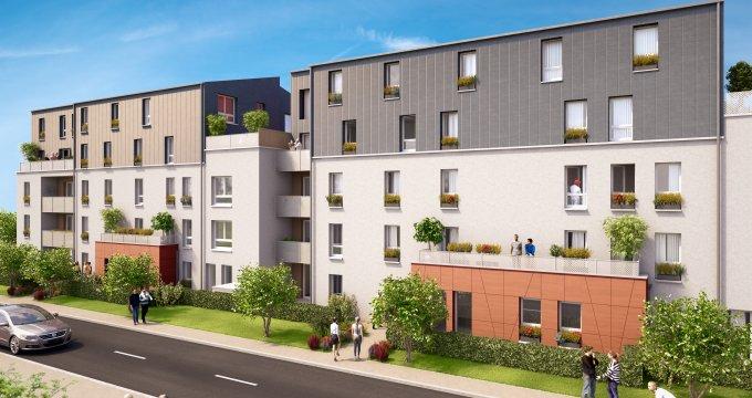 Achat / Vente immobilier neuf Sucy-en-Brie proche parc Morbras (94370) - Réf. 2174