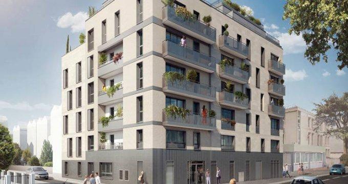 Achat / Vente immobilier neuf Vanves à moins de 300m du Transilien N (92170) - Réf. 5732