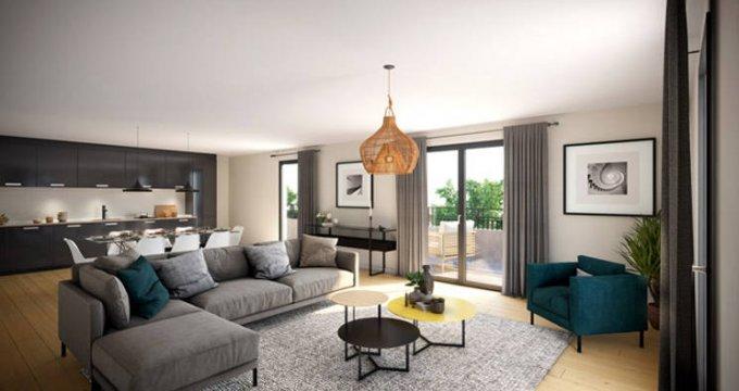 Achat / Vente immobilier neuf Verneuil-sur-Seine quartier proche du centre (78480) - Réf. 5704